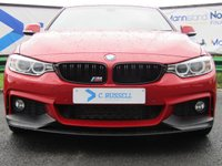 USED 2015 15 BMW 4 SERIES 2.0 420D XDRIVE M SPORT 2d 188 BHP