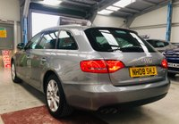 USED 2008 08 AUDI A4 2.0 AVANT TDI SE DPF 5d 141 BHP ESTATE with only 75000 miles & service history