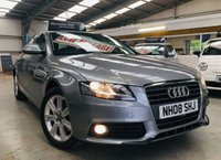 2008 AUDI A4 2.0 AVANT TDI SE DPF 5d 141 BHP ESTATE with only 75000 miles & service history £5895.00