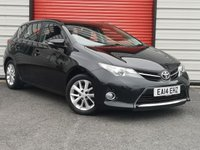 USED 2014 14 TOYOTA AURIS 1.4 ICON D-4D 5d 89 BHP