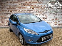 USED 2011 61 FORD FIESTA 1.4 TITANIUM 5d AUTO 96 BHP NEW CAMBELT AND WATER PUMP