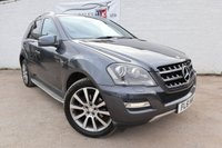 USED 2011 61 MERCEDES-BENZ M CLASS 3.0 ML300 CDI BLUEEFFICIENCY GRAND EDITION 5d AUTO 204 BHP