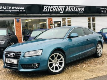 2008 AUDI A5 2.0 TFSI MANUAL COUPE £SOLD