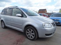 2005 VOLKSWAGEN TOURAN 1.9 S TDI 7 STR DRIVES GREAT  £1800.00