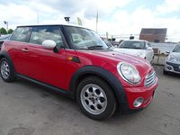 2007 MINI HATCH COOPER 1.6 COOPER GREAT SPEC DRIVES WELL £1800.00