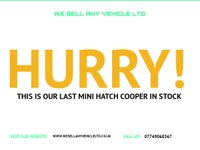 USED 2007 57 MINI HATCH COOPER 1.6 COOPER GREAT SPEC DRIVES WELL