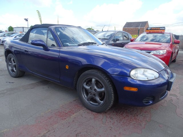 USED 2005 05 MAZDA MX-5 1.8 I GOOD MIULES FSH DRIVES A1