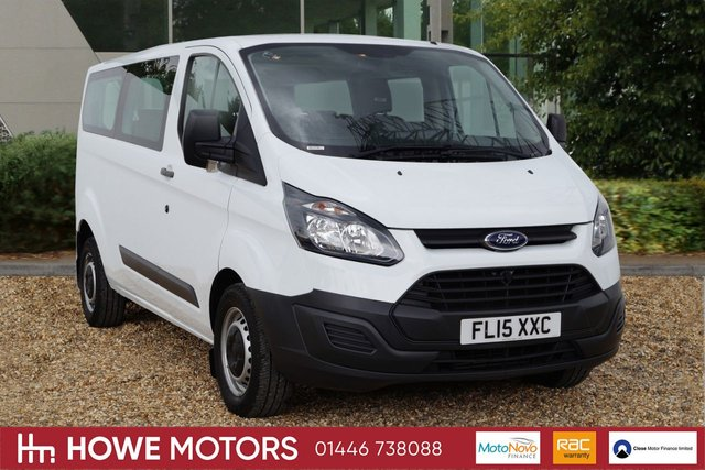 2015 15 FORD TRANSIT CUSTOM 2.2 125 TDCi 330 L2H1 Kombi 5dr 330 Eco Tec Long Wheel Base  ONLY 13,086 miles from new