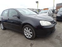 2006 VOLKSWAGEN GOLF 1.9 SPORT TDI FULL SERVICE DRIVES A1 £1895.00