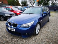 2010 BMW 5 SERIES 2.0 520D M SPORT TOURING 5d AUTO 175 BHP £6300.00
