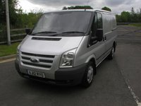 USED 2012 12 FORD TRANSIT 2.2 280 TREND LR 1d 99 BHP VAN - NO VAT Only 51000 miles, Service History, Ply Lined