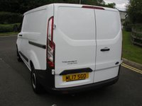 USED 2017 17 FORD TRANSIT CUSTOM 2.0 290 LR P/V 1d 104 BHP Van - NO VAT Air Con, 41000 miles, Service History, 1 Owner