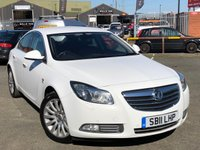 USED 2011 11 VAUXHALL INSIGNIA 2.0 ELITE CDTI ECOFLEX 5d 158 BHP *FULL LEATHER, DAB DIGITAL RADIO, 18'' ALLOYS!*