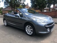 USED 2009 09 PEUGEOT 207 1.6 SPORT COUPE CABRIOLET 2d 118 BHP