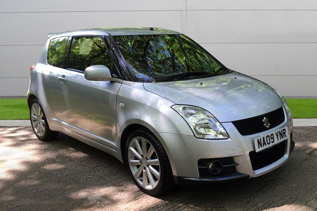USED 2009 09 SUZUKI SWIFT 1.6 SPORT 3d 125 BHP VERY LOW MILEAGE, AIR CON, FINANCE ME TODAY-UK DELIVERY POSSIBLE
