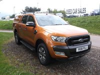 USED 2018 18 FORD RANGER 3.2 WILDTRAK 4X4 DCB TDCI 1d AUTO 197 BHP Mint condition Ranger with only 4,000 miles! Beautiful spec, drives superbly and still has manufacturers warranty!