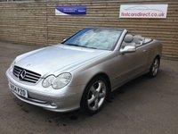 2004 MERCEDES-BENZ CLK 1.8 CLK200 KOMPRESSOR AVANTGARDE 2d AUTO 163 BHP £3699.00
