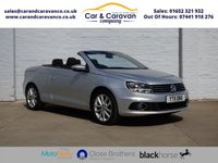 USED 2011 11 VOLKSWAGEN EOS 1.4 SE TSI BLUEMOTION TECHNOLOGY 2d 121 BHP One Owner Full Dealer History Buy Now, Pay Later Finance!