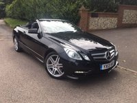 USED 2013 13 MERCEDES-BENZ E CLASS 2.1 E220 CDI BLUEEFFICIENCY SPORT 2d AUTO 170 BHP CONVERTIBLE