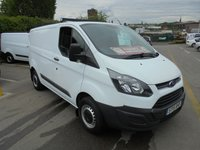 2015 FORD TRANSIT CUSTOM 2.2 TDCI 270 ECO-TECH L1H1 SHORT WHEEL BASE LO ROOF FULL PRINT OUT SERVICE HISTORY (( FINANCE AVAILABLE )))   £8500.00