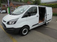 2015 FORD TRANSIT CUSTOM 2.2 TDCI 270 ECO-TECH L1H1 SHORT WHEEL BASE LO ROOF FULL PRINT OUT SERVICE HISTORY (( FINANCE AVAILABLE )))   £7995.00