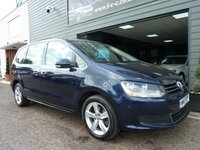 2015 VOLKSWAGEN SHARAN 2.0 SE TDI BLUEMOTION TECHNOLOGY DSG 5d AUTO 175 BHP £14995.00