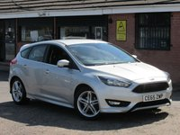 2015 FORD FOCUS 1.0 ZETEC S (LOW MILEAGE) 5dr £8990.00