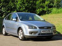 USED 2007 07 FORD FOCUS 1.6 ZETEC CLIMATE 5d 100 BHP 12 MONTHS RAC BREAKDOWN COVER!