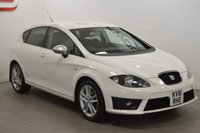 USED 2011 61 SEAT LEON 2.0 CR TDI FR 5d 140 BHP LOW MILES + STUNNING IN WHITE + PART EX + FINANCE ?