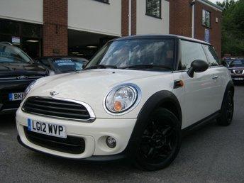 2012 MINI HATCH ONE 1.6 ONE D 3d 90 BHP £SOLD