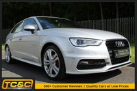 USED 2014 63 AUDI A3 1.6 TDI S LINE 5d 104 BHP A WELL CARED FOR LOW OWNER EXAMPLE WITH SERVICE HISTORY!!!