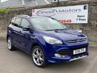 USED 2016 16 FORD KUGA 2.0 TITANIUM SPORT TDCI 5d 177 BHP PCP/ HP FINANCE AVAILABLE+LOW MILEAGE+1 OWNER+FULL SERVICE HISTORY