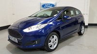 USED 2017 17 FORD FIESTA 1.0 ZETEC 3d 99 BHP 1 Owner / Sat-Nav / Bluetooth / Ford Service History