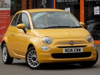 USED 2016 16 FIAT 500 1.2 Pop Star 3dr ** LOW MILES + ONLY 20 RFL **