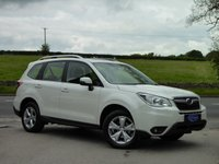 USED 2015 15 SUBARU FORESTER 2.0 I XE 5d AUTO 148 BHP ONE LADY OWNER, FULL SUBARU HISTORY, GREAT CAR