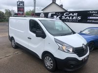 2016 RENAULT TRAFIC 1.6 SL27 BUSINESS DCI S/R P/V 1d 115 BHP £8400.00