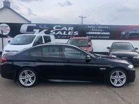 USED 2013 63 BMW 5 SERIES 2.0 520D M SPORT 4d AUTO 181 BHP