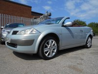 USED 2004 04 RENAULT MEGANE 1.6 DYNAMIQUE VVT COUPE CABRIOLET 2d 115 BHP FULL LEATHER INTERIOR