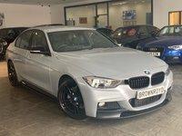 USED 2012 62 BMW 3 SERIES 3.0 330D M SPORT 4d 255 BHP M PERFORMANCE STYLING+PRO NAV