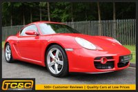 USED 2006 06 PORSCHE CAYMAN 2.7 24V 2d 242 BHP A STUNNING CAYMAN WITH BLACK LEATHER AND FULL SERVICE HISTORY!!!