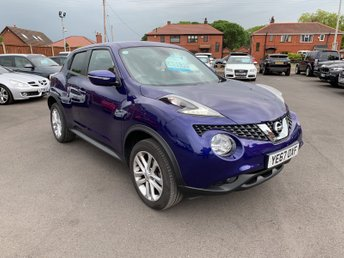 2017 NISSAN JUKE 1.6 N-CONNECTA XTRONIC 5d 117 BHP £11950.00