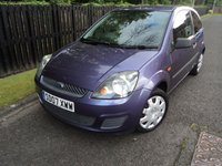 2007 FORD FIESTA 1.2 STYLE CLIMATE 16V 3d 78 BHP £1488.00