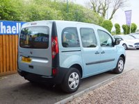 USED 2010 60 RENAULT KANGOO 1.6 EXTREME 16V 5d AUTO 105 BHP AUX INPUT, AIR CON
