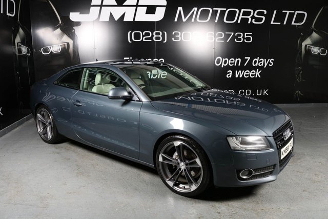 2008 58 AUDI A5 3.0 TDI QUATTRO  SPORT BLACK EDITION STYLE 240 BHP (FINANCE AND WARRANTY)