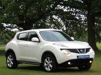 2011 NISSAN JUKE 1.6 ACENTA 5d AUTO 117 BHP £6290.00