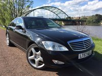 """USED 2007 57 MERCEDES-BENZ S CLASS 3.0 S320 CDI 4d AUTO 231 BHP **20"""" AMG ALLOYS**"""