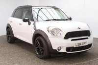 USED 2014 14 MINI COUNTRYMAN 2.0 COOPER SD 5DR PARKING SENSOR BLUETOOTH 141 BHP MINI SERVICE HISTORY + PARKING SENSOR + BLUETOOTH + AIR CONDITIONING + DAB RADIO + ELECTRIC WINDOWS + RADIO/CD/AUX/USB + ELECTRIC MIRRORS + 17 INCH ALLOY WHEELS