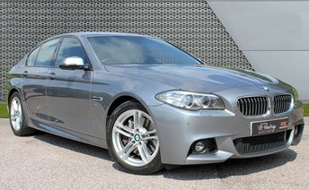 2014 BMW 5 SERIES 3.0 530D M SPORT 4d AUTO 255 BHP £SOLD