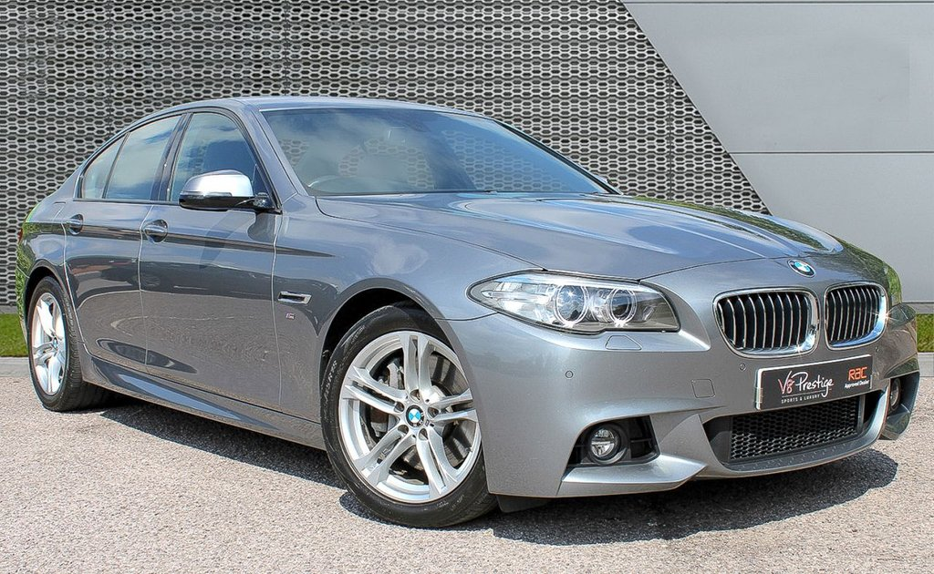 USED 2014 64 BMW 5 SERIES 3.0 530D M SPORT 4d AUTO 255 BHP **530D M SPORT-GREAT SPEC**