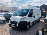 2014 CITROEN RELAY 2.2 35 L3H2 ENTERPRISE HDI 1d 129 BHP £6995.00